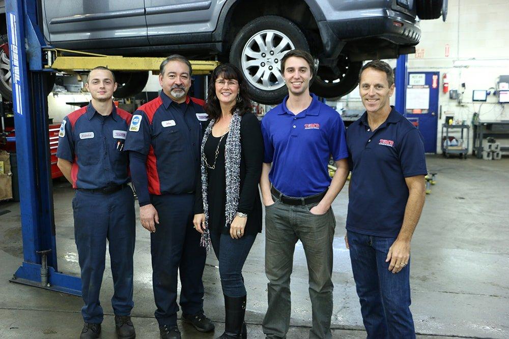 Tom's Automotive Repair Team