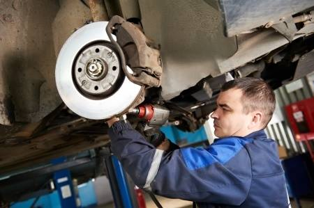 Changing old brakes