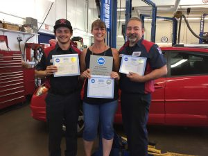 West Seattle Auto Repair ASE Certified technicians shop