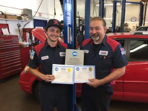 Auto, truck repair shop, ASE certified technicians, west seattle Tom's