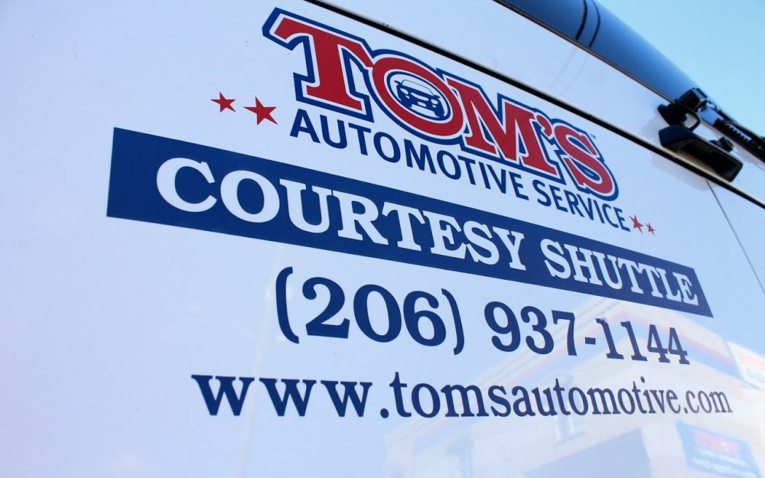 Free Shuttle Service at Tom's Automotive