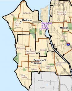 tom's automotive west seattle car repair shuttle map