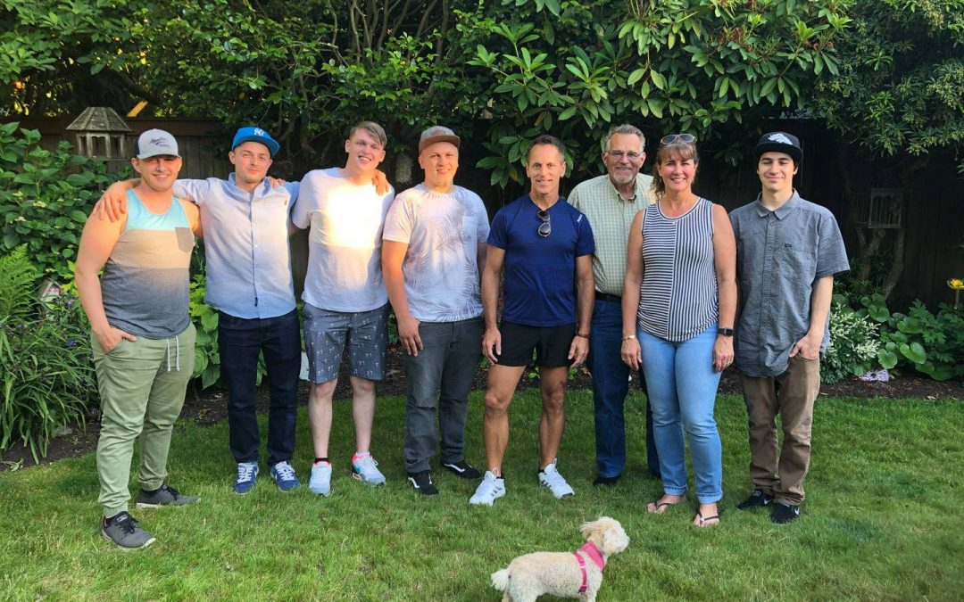 Tom's automotive repair shop team photo West Seattle