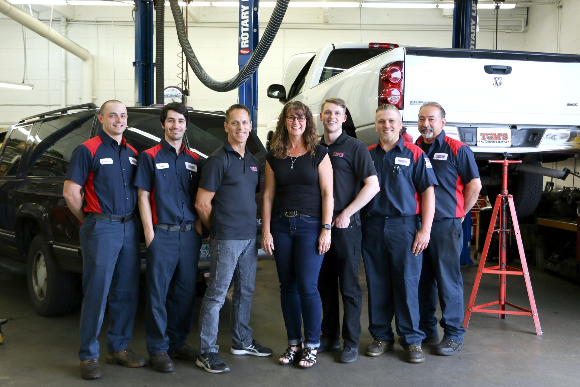 Tom's Automotive Repair Team