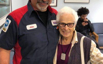 Thriving -and Driving- at 101… Meet Rosa